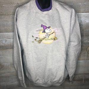 Peanuts vintage 90s snoopy Halloween sweater